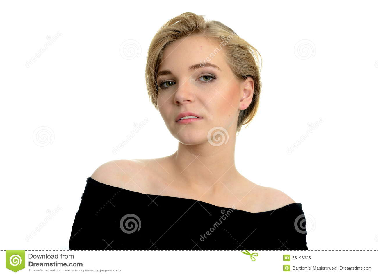Download Kind Girl Portrait Stock Image Image Of Nice Young
