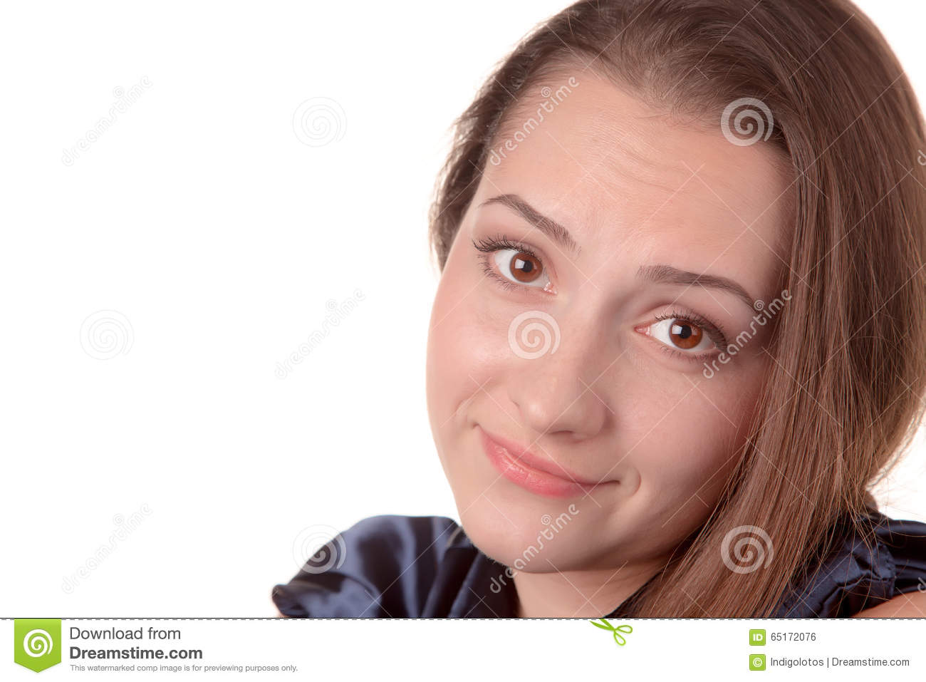 Download Kind Girl Smiling Stock Photo Image Of Beautiful Portrait