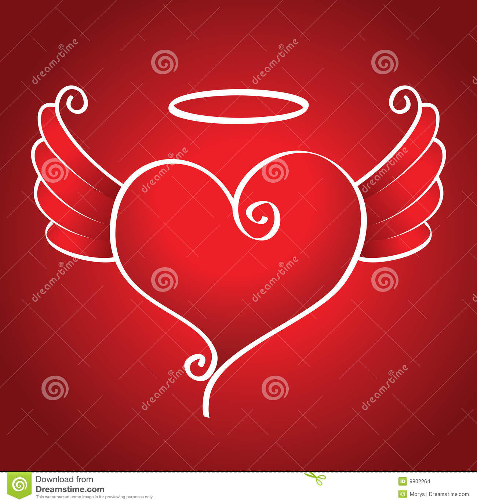 Kind heart stock vector. Illustration of romance, sacred ...