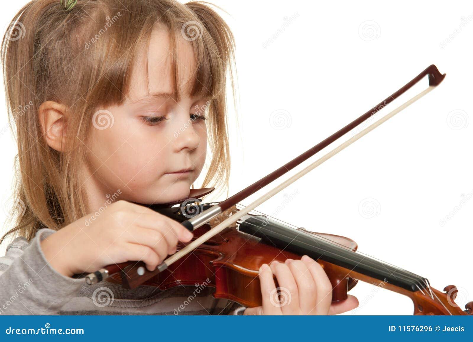 Kind met viool