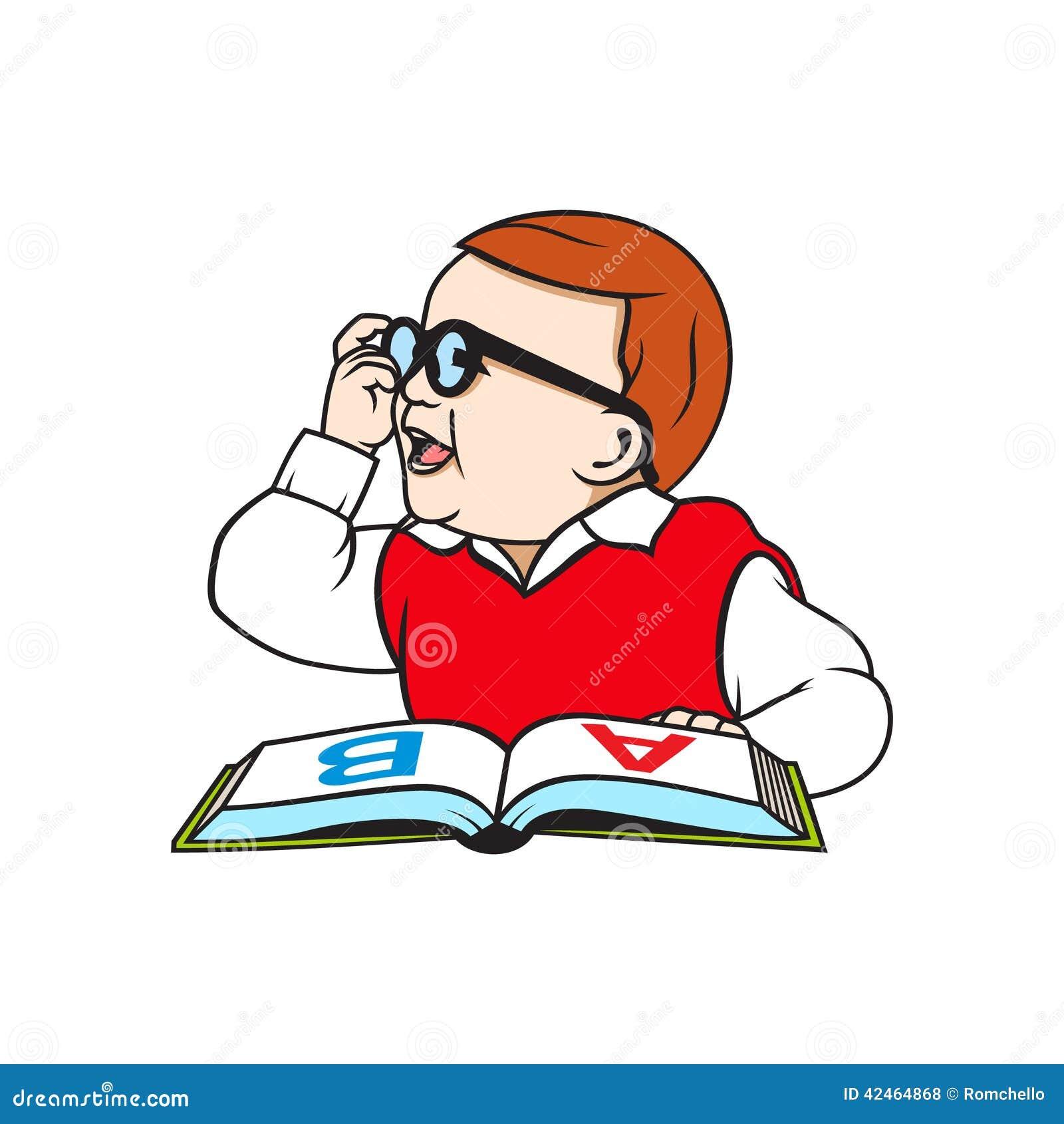 Kind mit einem Buch