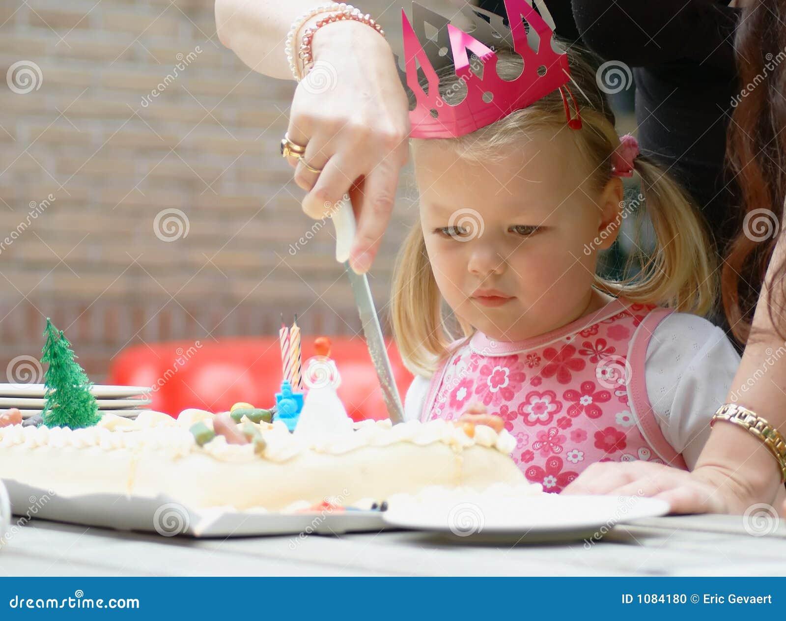 Kind op verjaardag