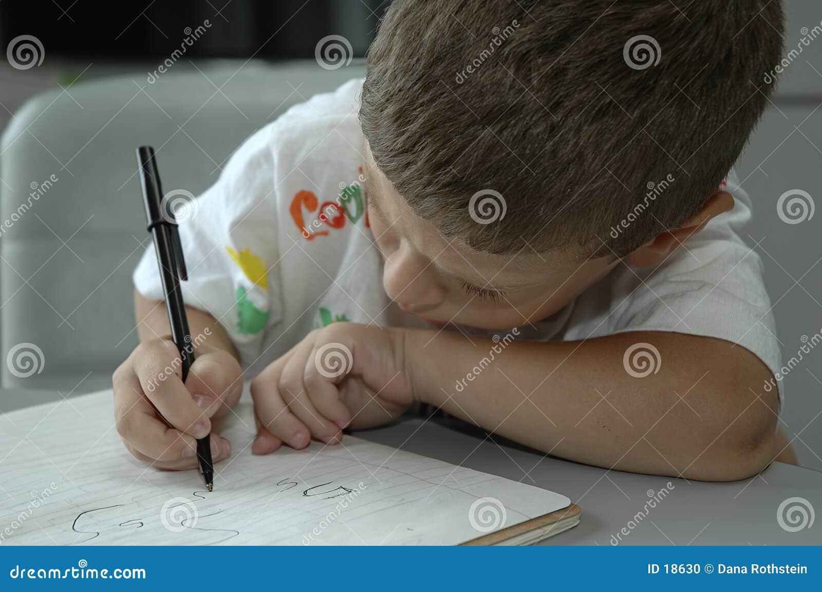 Kind-Schreiben
