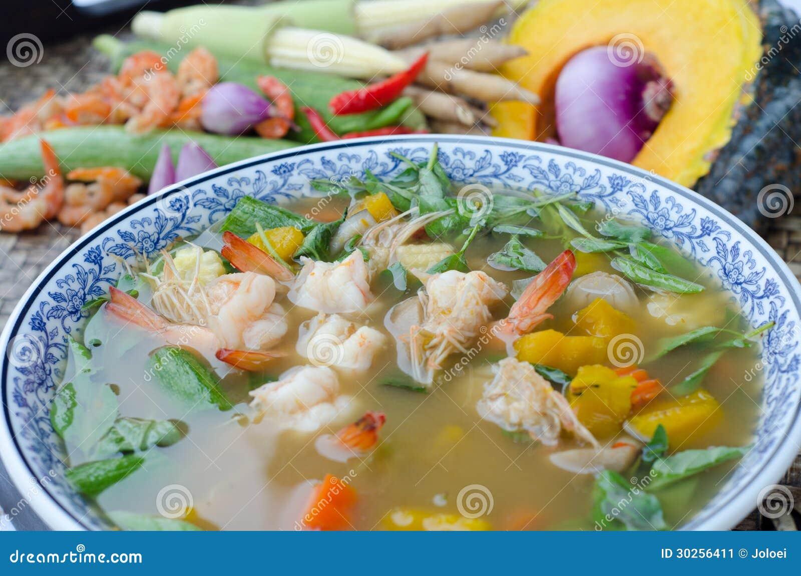 Spicy Thai Vegetable Soup Recipes — Dishmaps