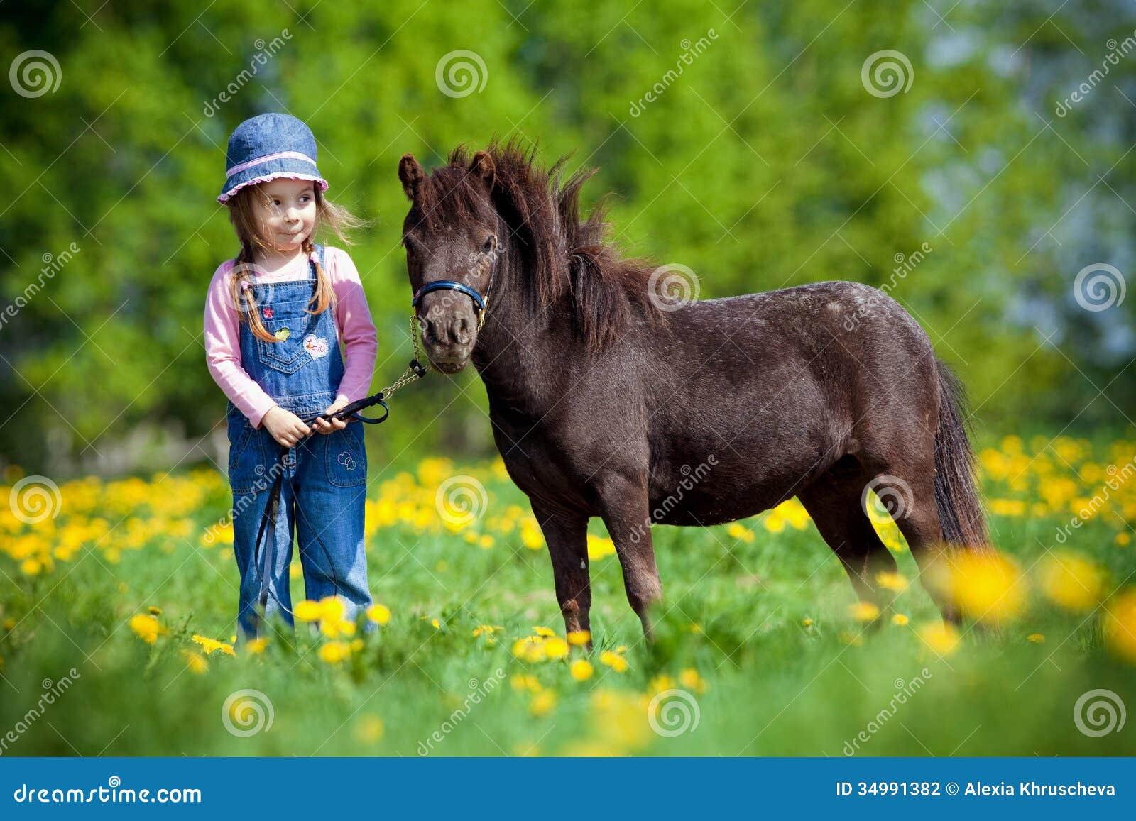 Pferd Und Kind