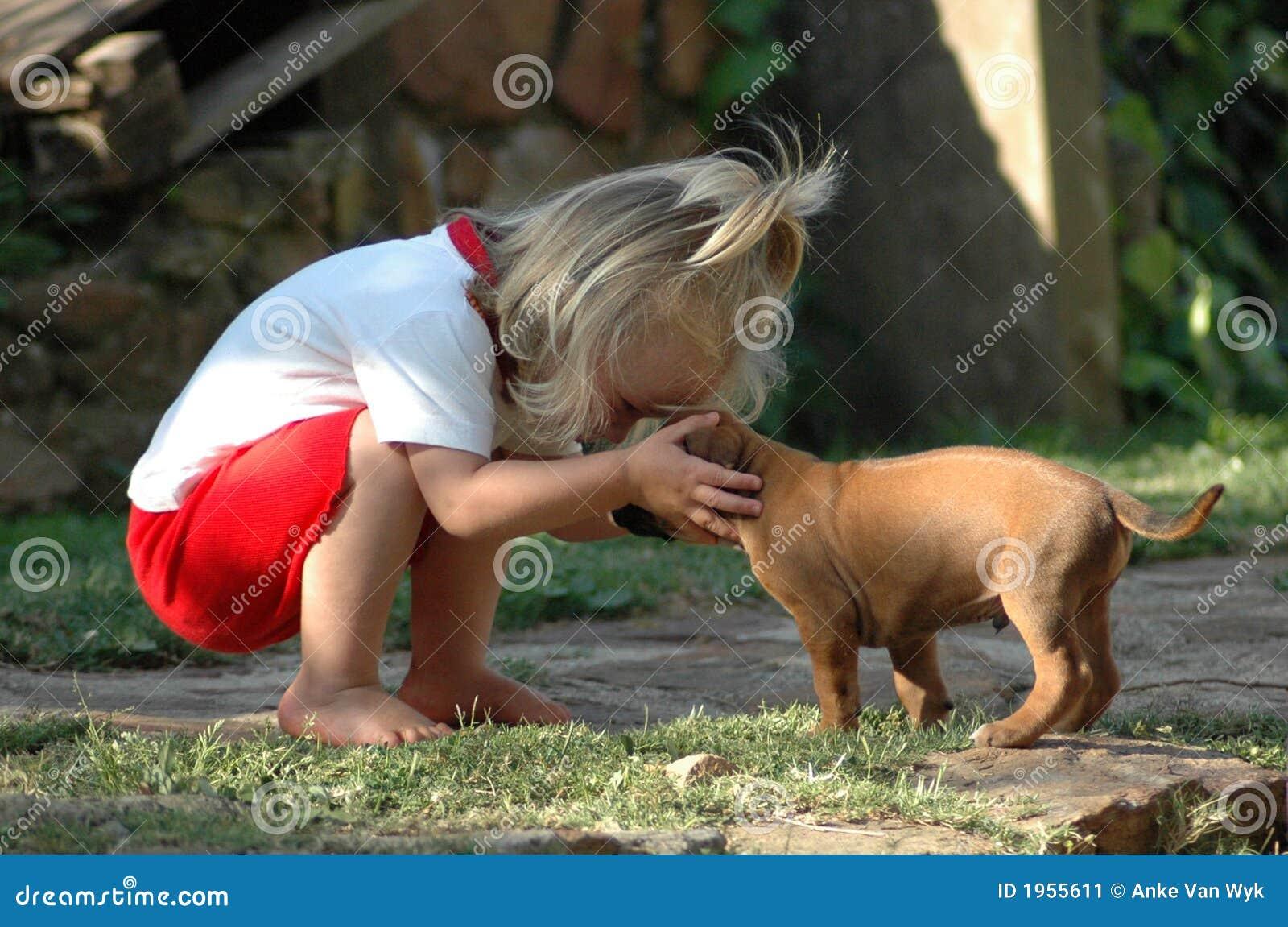 Kind- und Welpenhaustier
