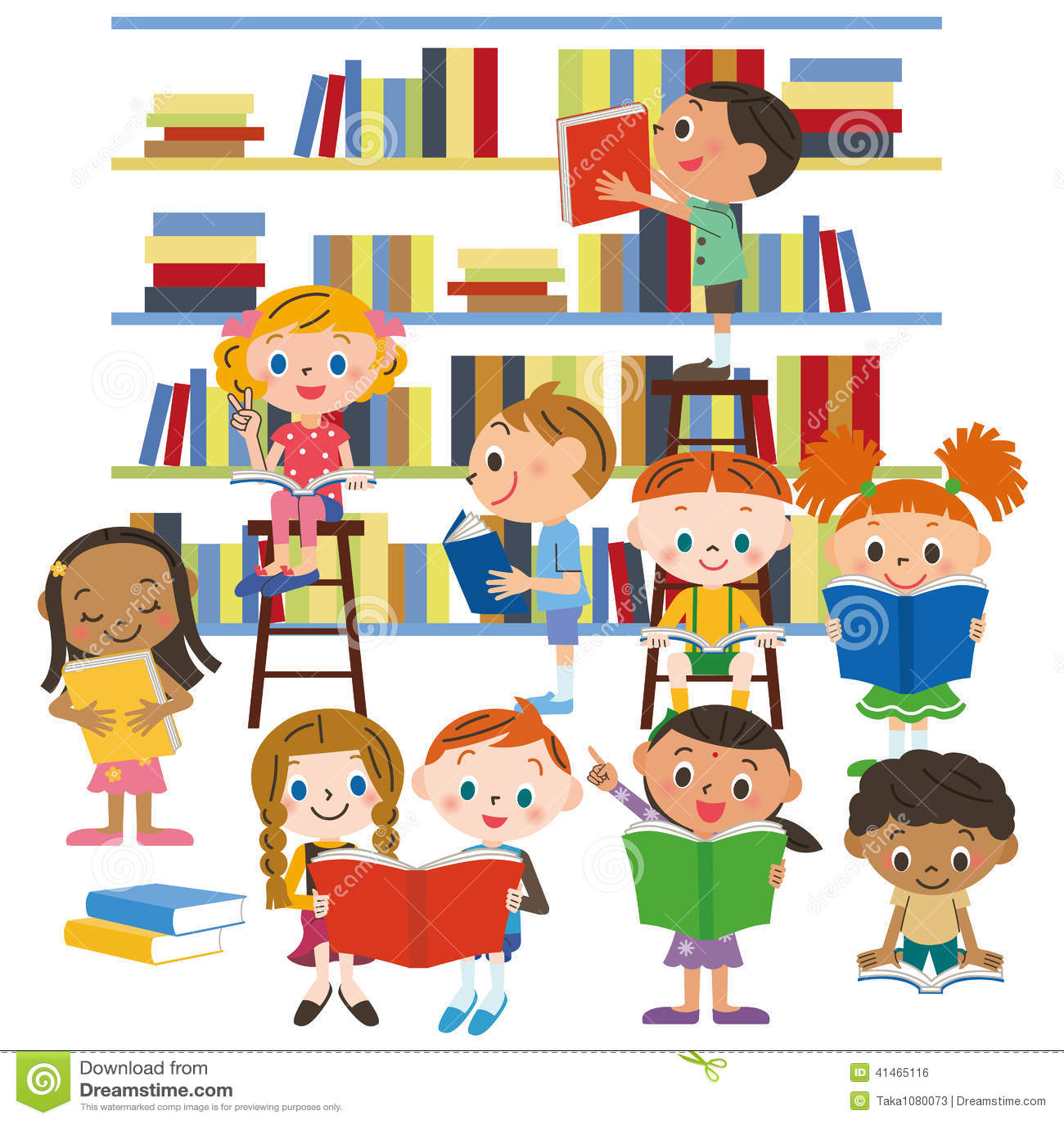 Bücherei clipart  Bibliothek Stock Illustrationen, Vektors, & Klipart – (38,829 ...