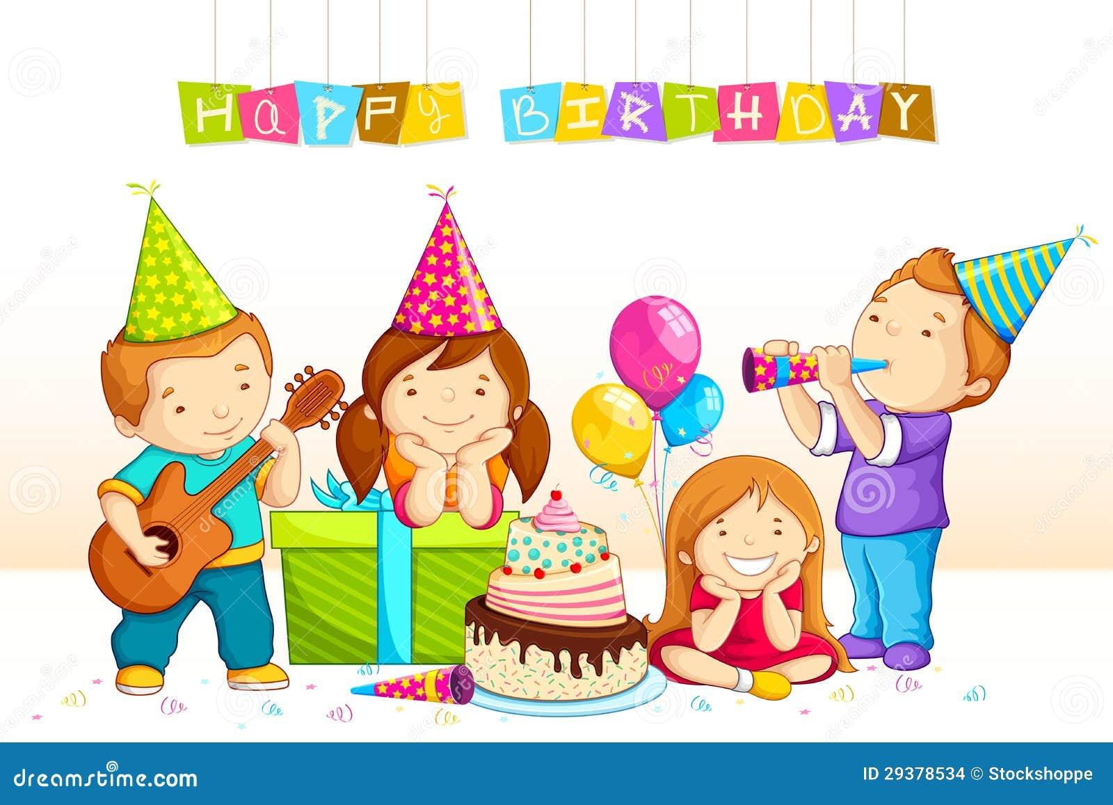 Рисунок нарисовать день рождения для детей