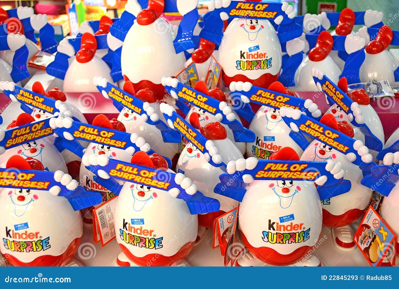 Kinder Surprise Stock Photos