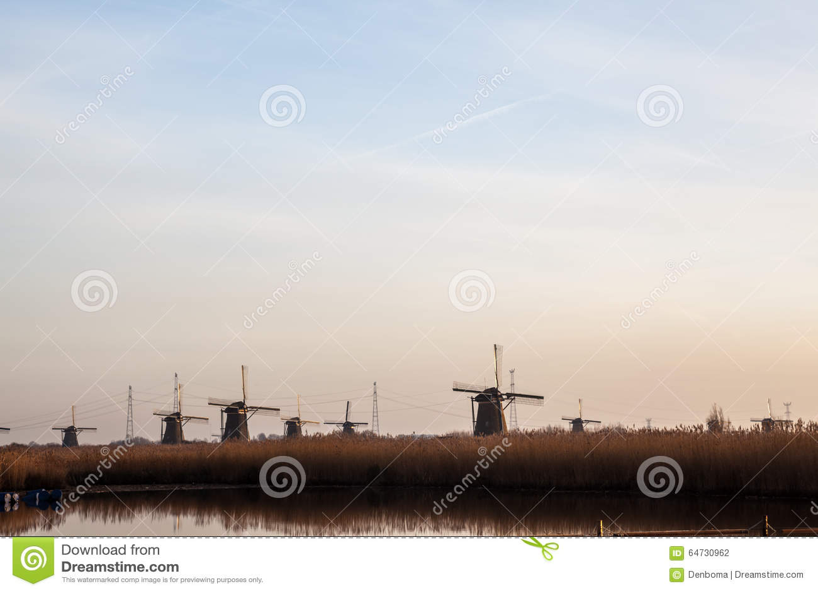 Kinderdijk in Olanda