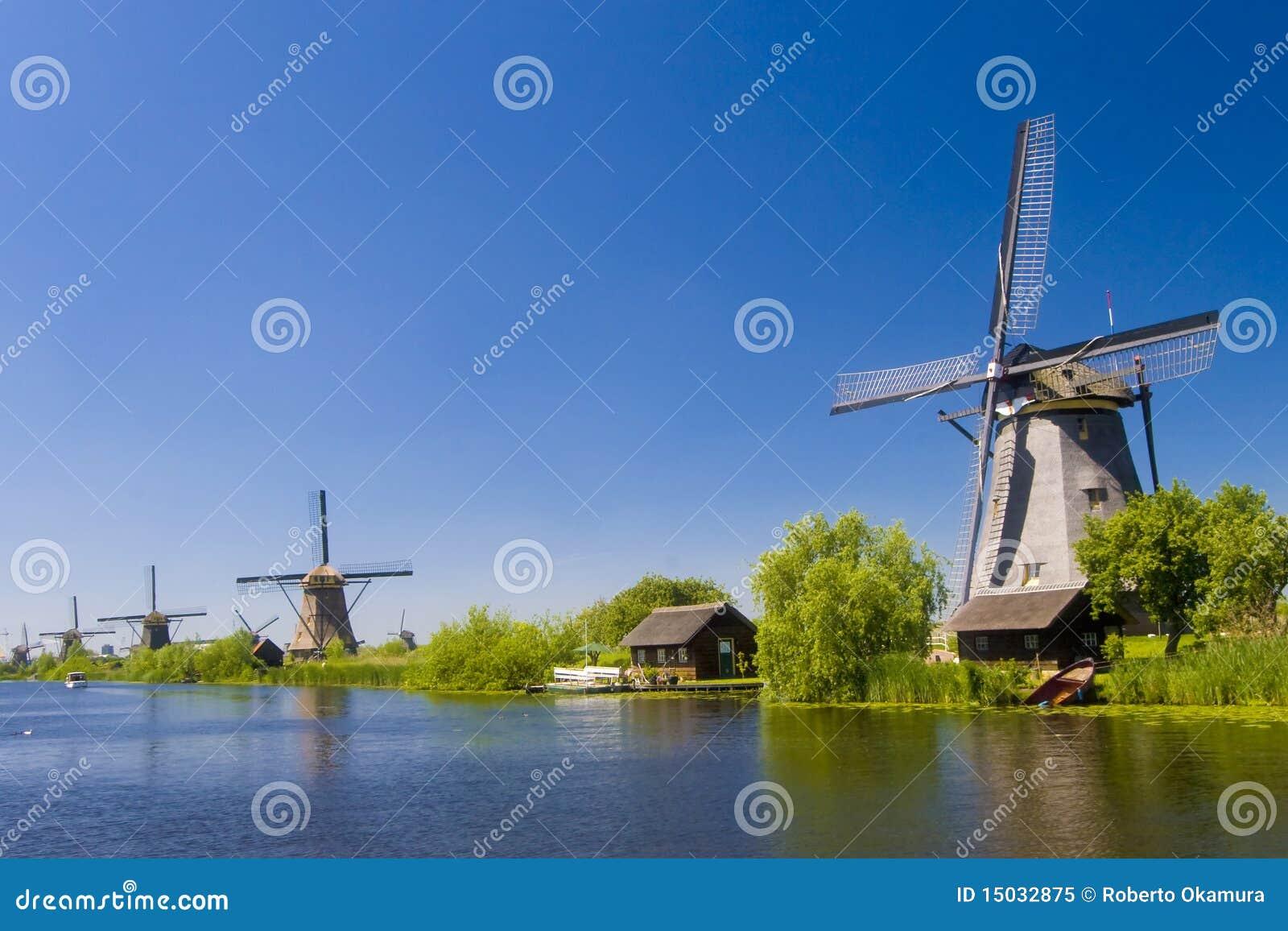 Kinderdijk Windmühlen 2