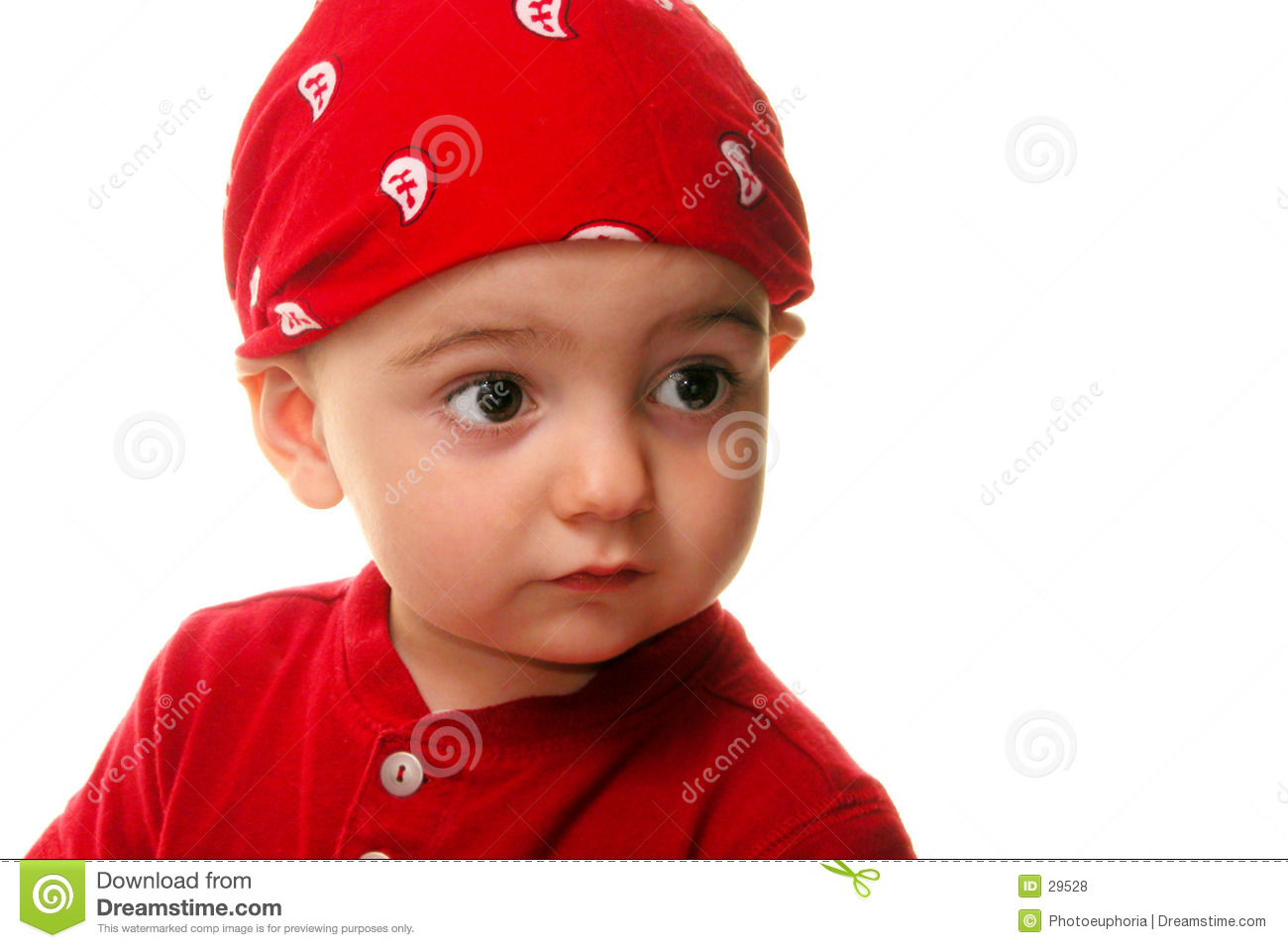 Kinderen: Boy Wearing Do Rag