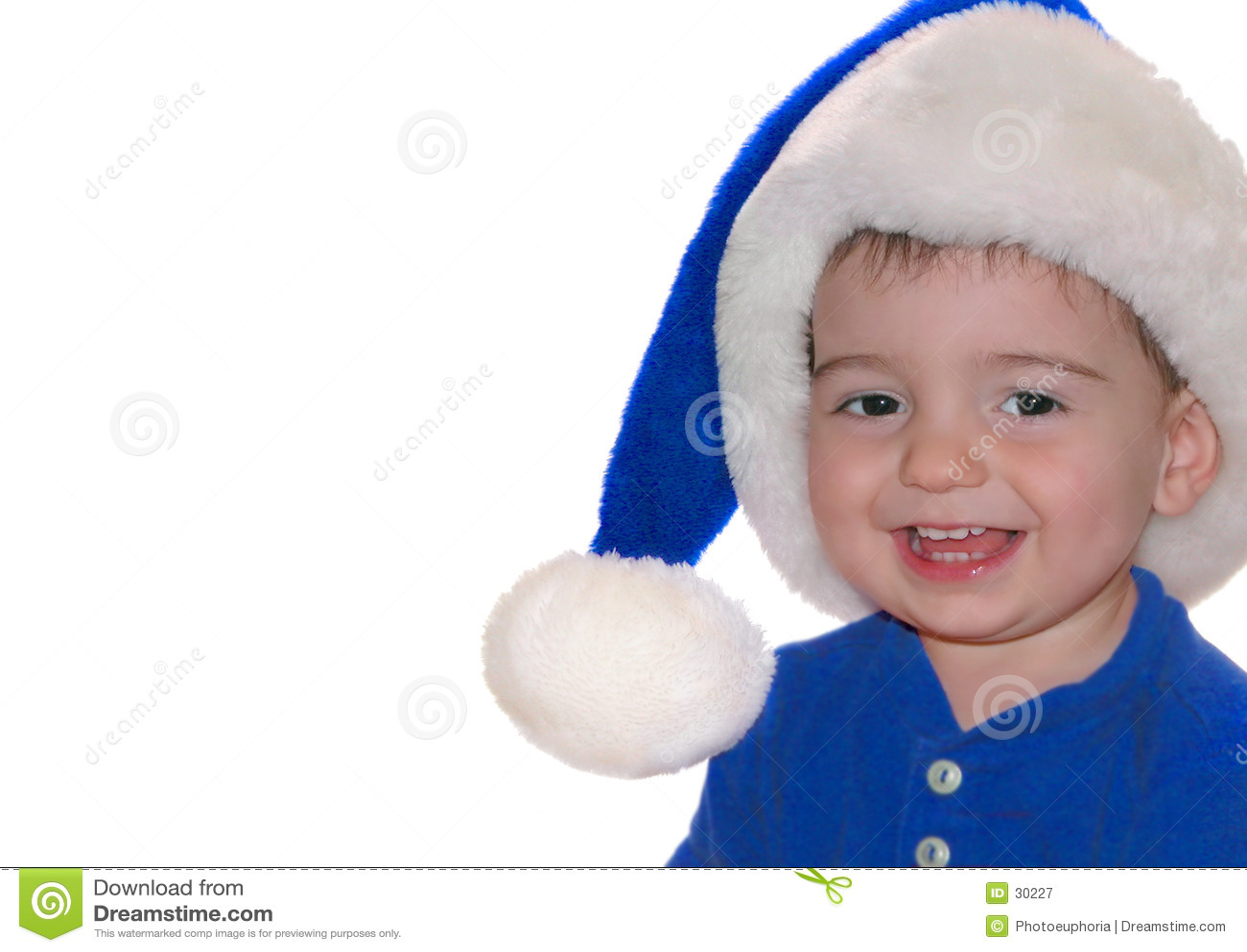 Kinderen: De blauwe Baby van de Kerstman