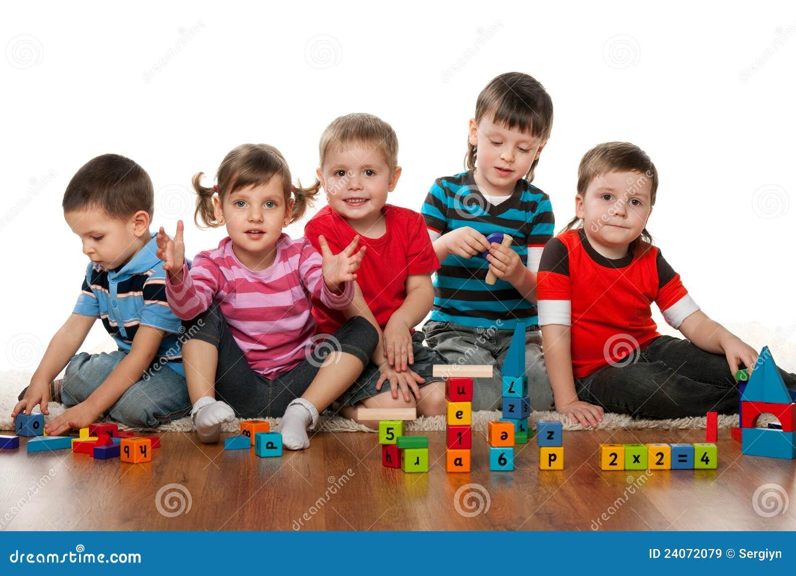 Example Of Floor Plan Kindergarten Royalty Free Stock Images Image 24072079