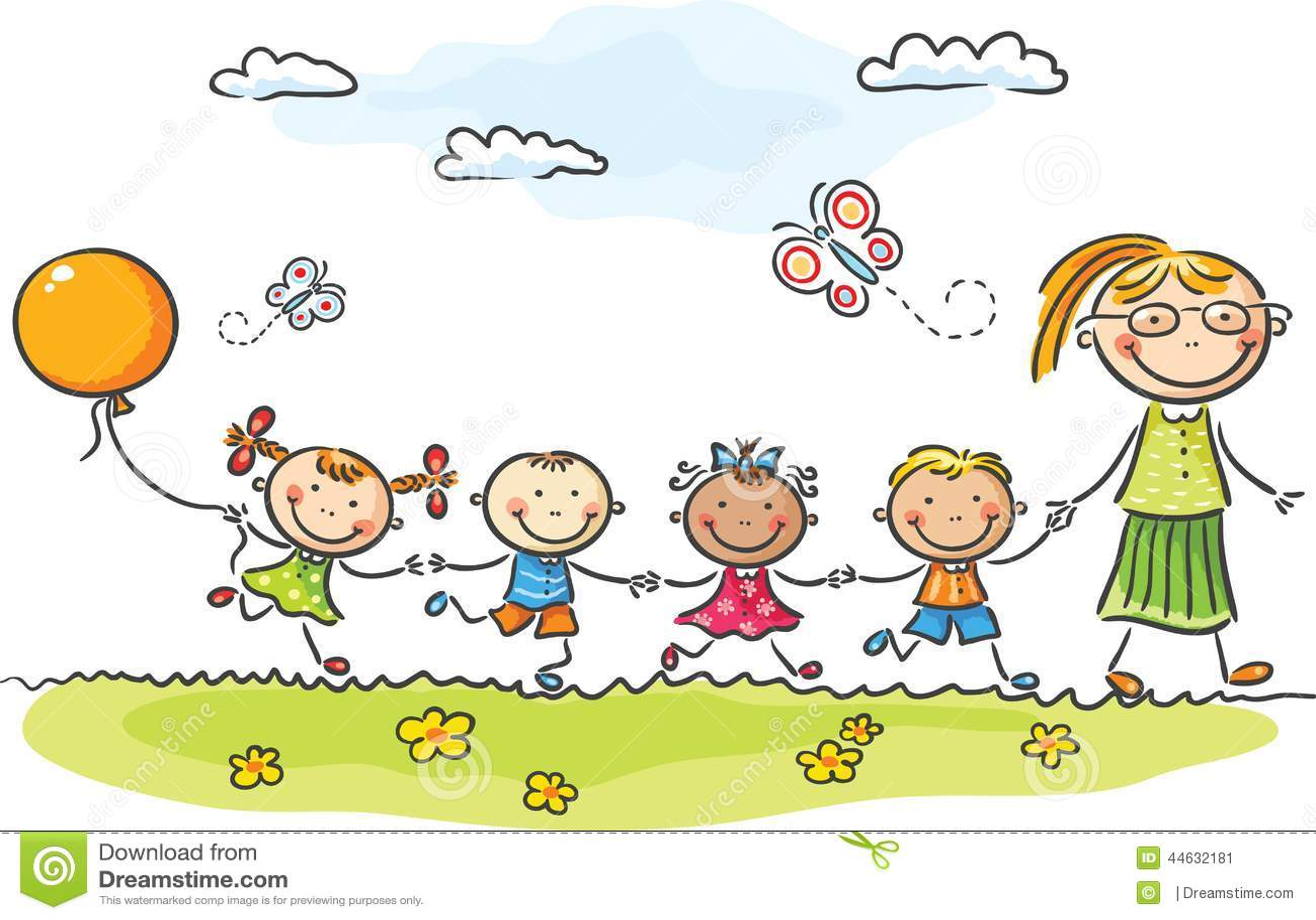 Kindergarten Stock Illustrationen, Vektors, & Klipart – (58,517 ...
