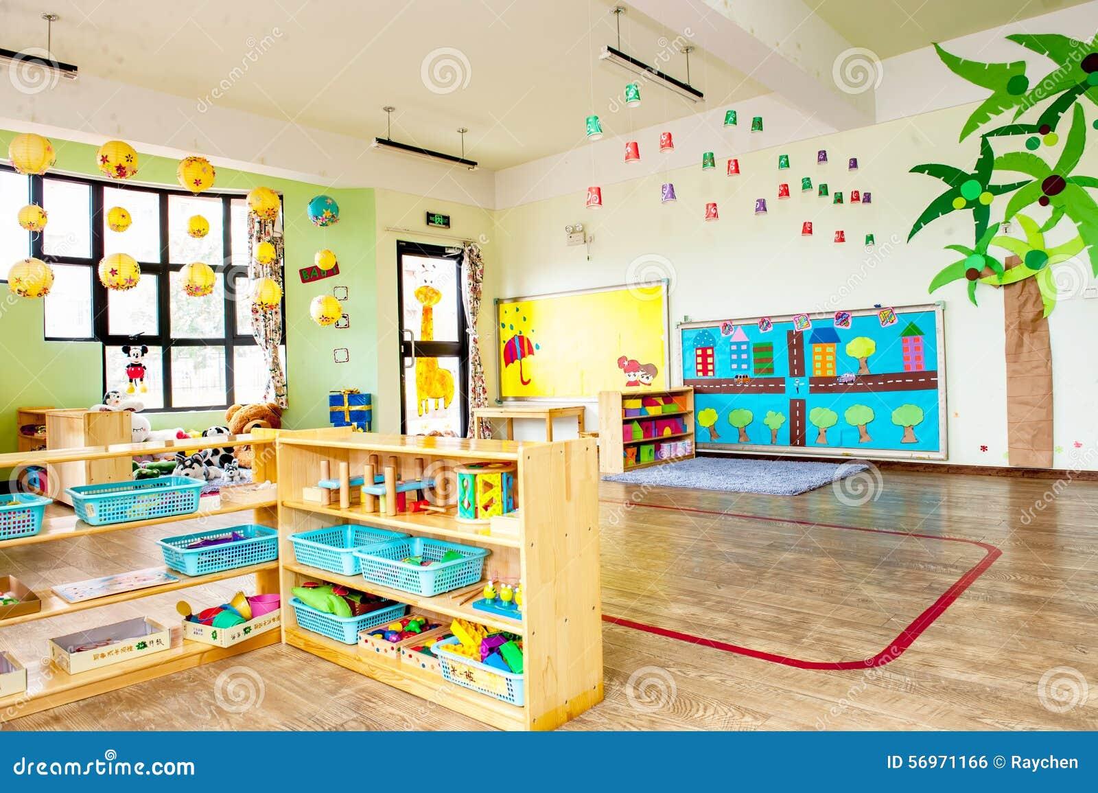 Kindergarten Stock Photo Image Of Play Classroom