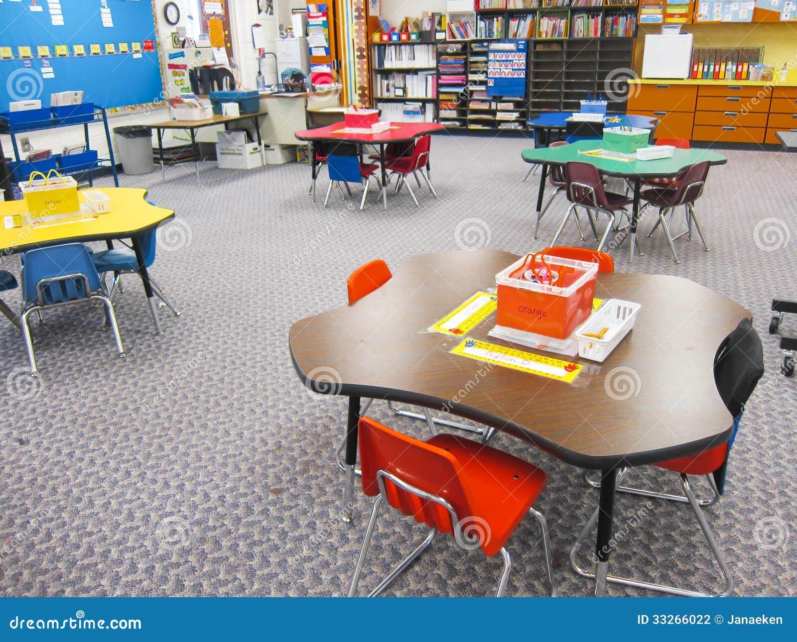 Kindergarten Classroom Stock Photography Image 33266022