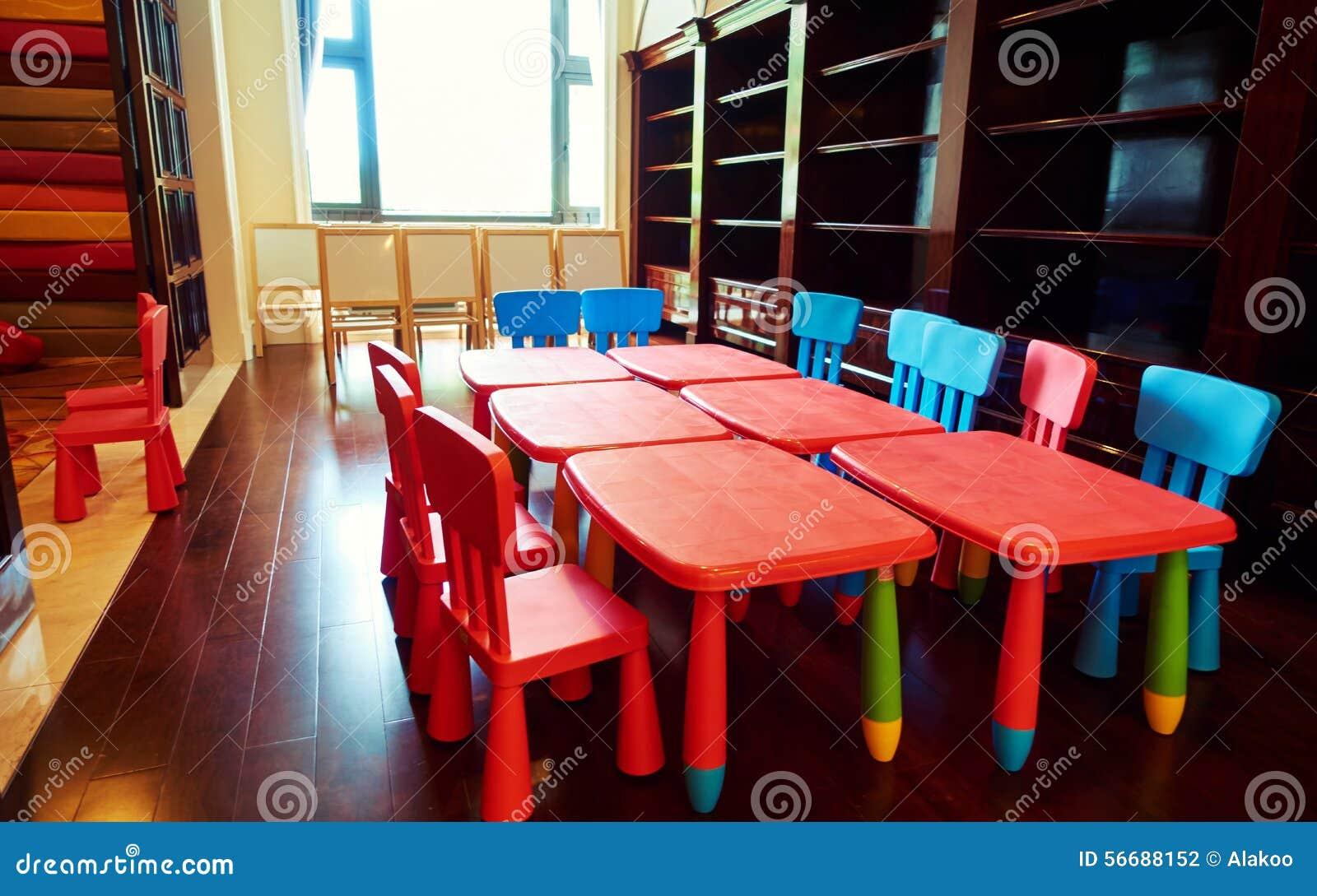 Kindergarten Classroom Stock Photo Image Of Indoors