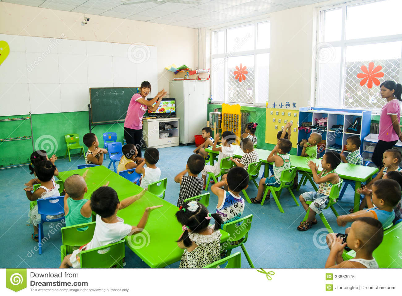 kindergarten classroom with children images galleries with a bite. Black Bedroom Furniture Sets. Home Design Ideas