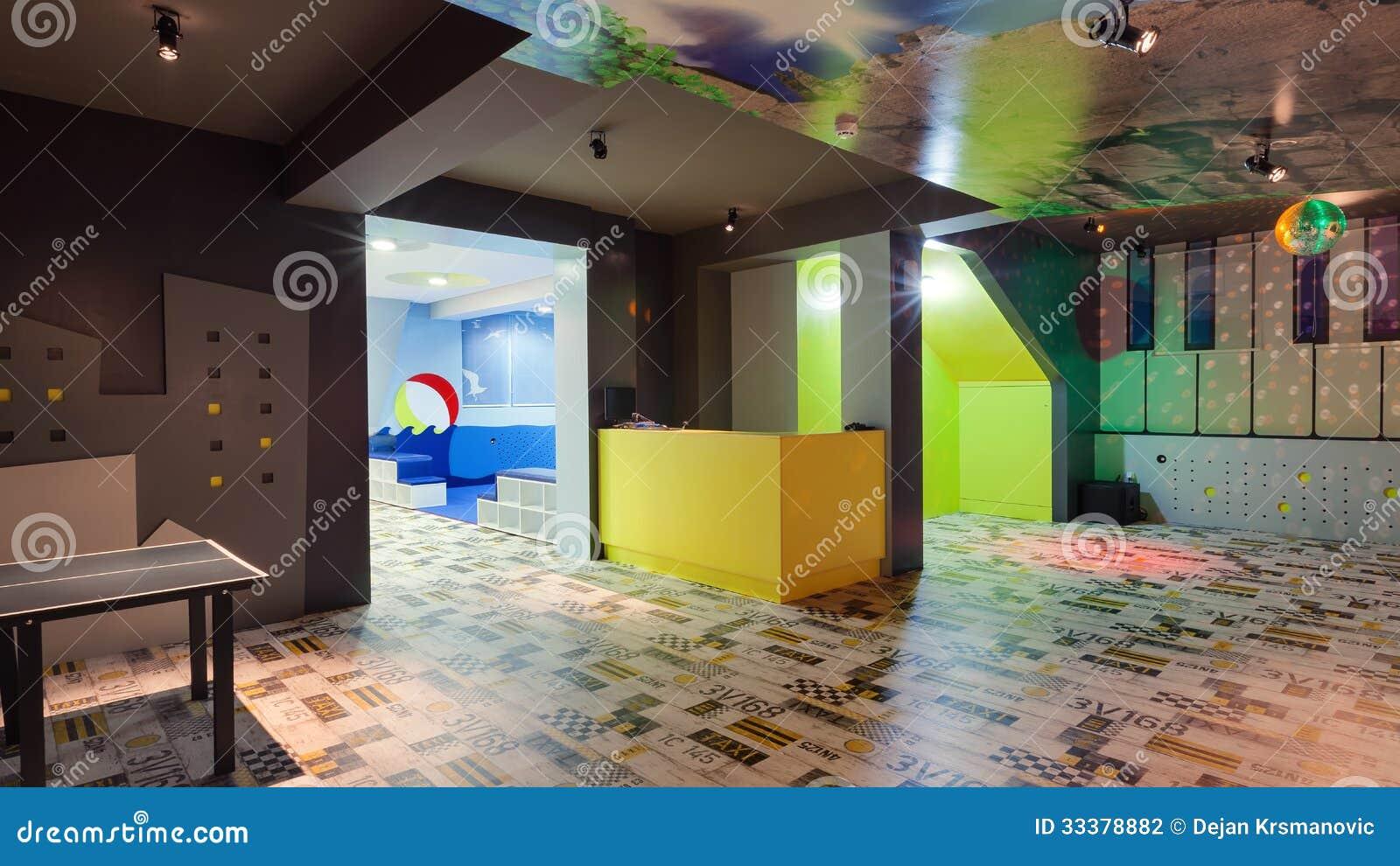 Kindergarten stock photo. image of furniture architecture 33378882