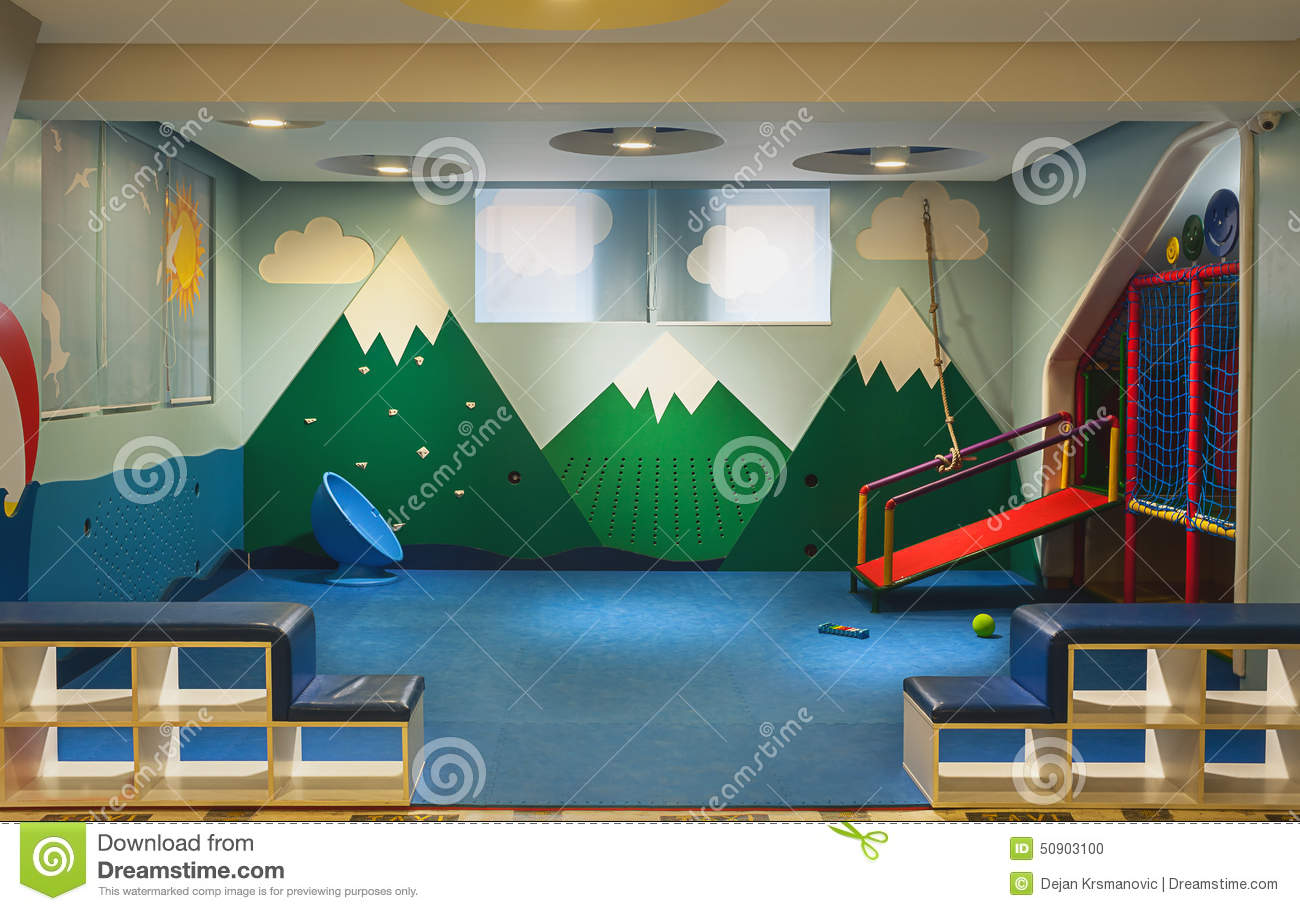 Kindergarten stock photo image 50903100 for Interior decoration equipment