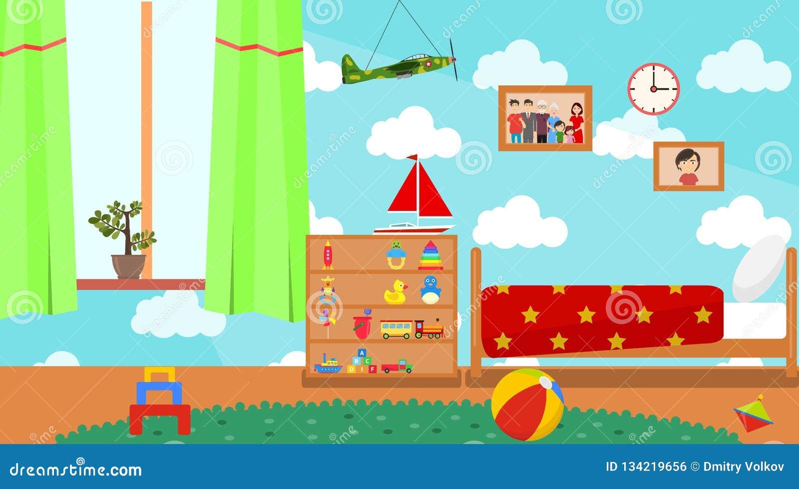 Cartoon Room: Playschool Cartoons, Illustrations & Vector Stock Images