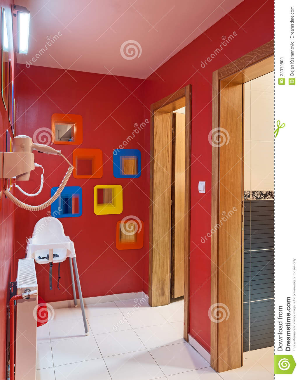 Kindergarten Toilets Stock Photo Image 33379800