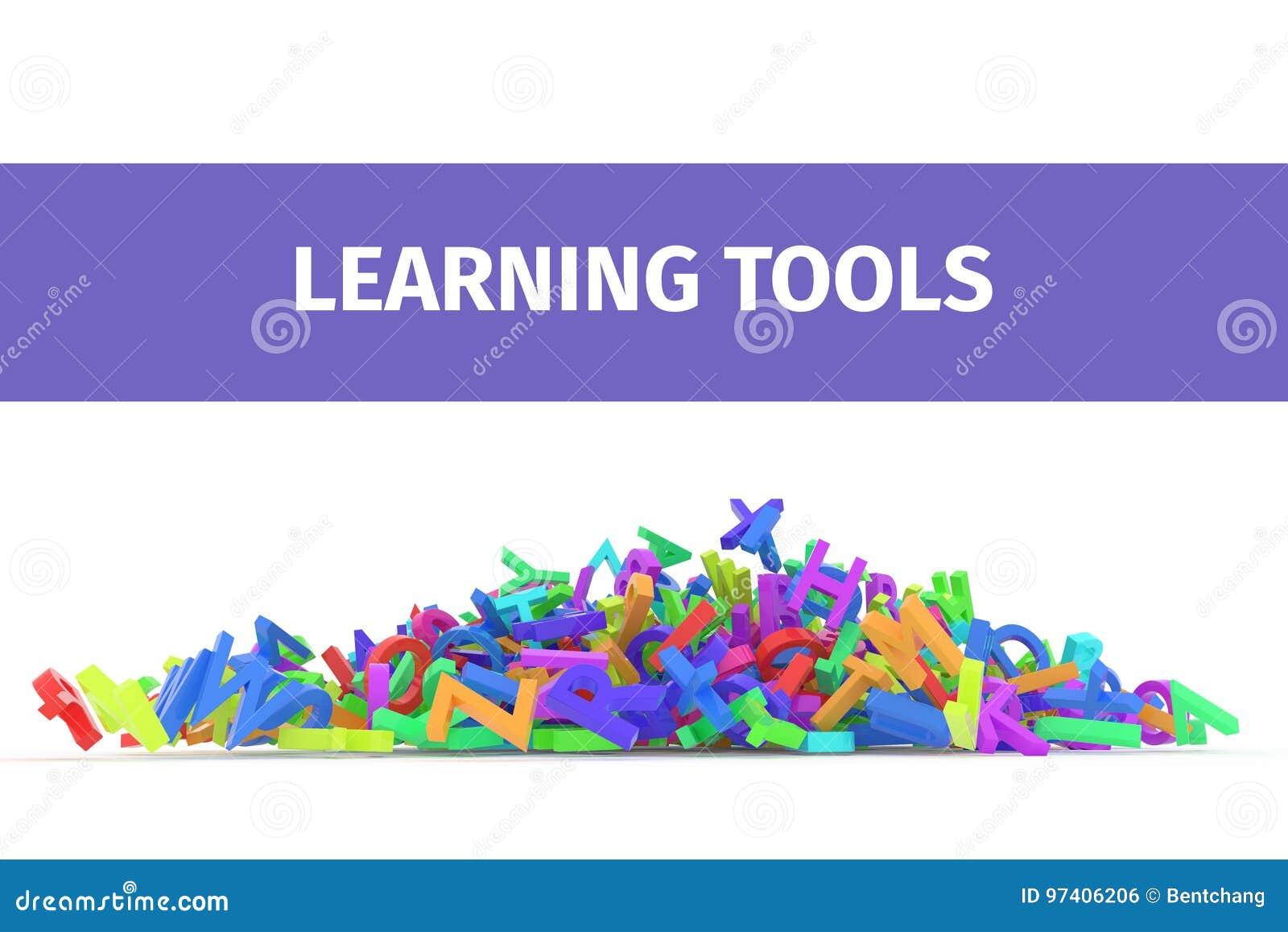 Download Kindergarten Word Cloud Stack Of Alphabets Stock Illustration
