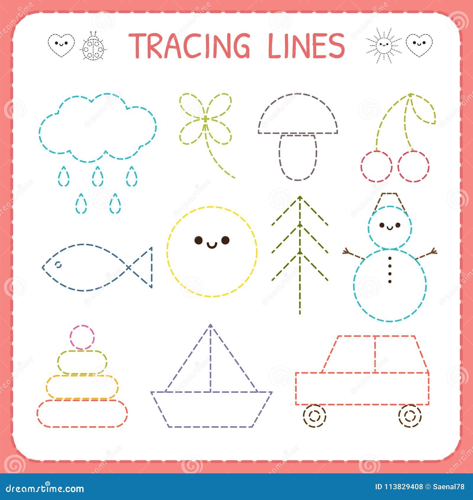 Standing Line Worksheets For Kindergarten