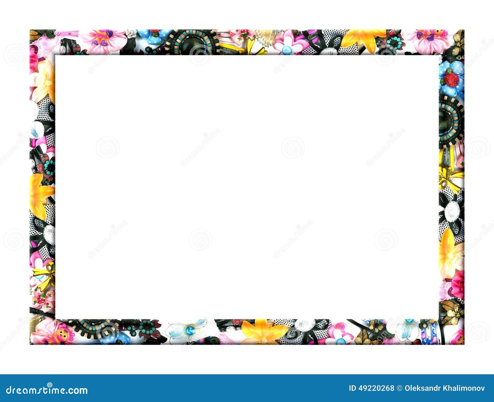 kinderrahmen stock abbildung bild 49220268. Black Bedroom Furniture Sets. Home Design Ideas