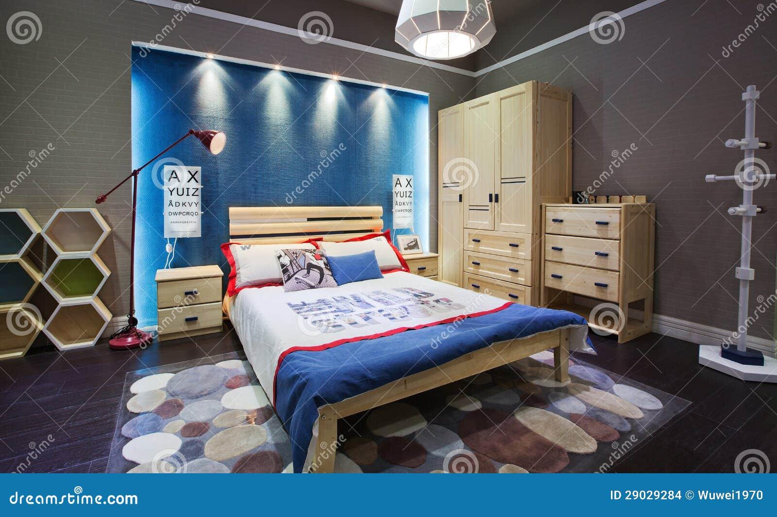 Kinder Slaapkamer Lampen : Kinderschlafzimmer stockfoto bild von sofa lampe