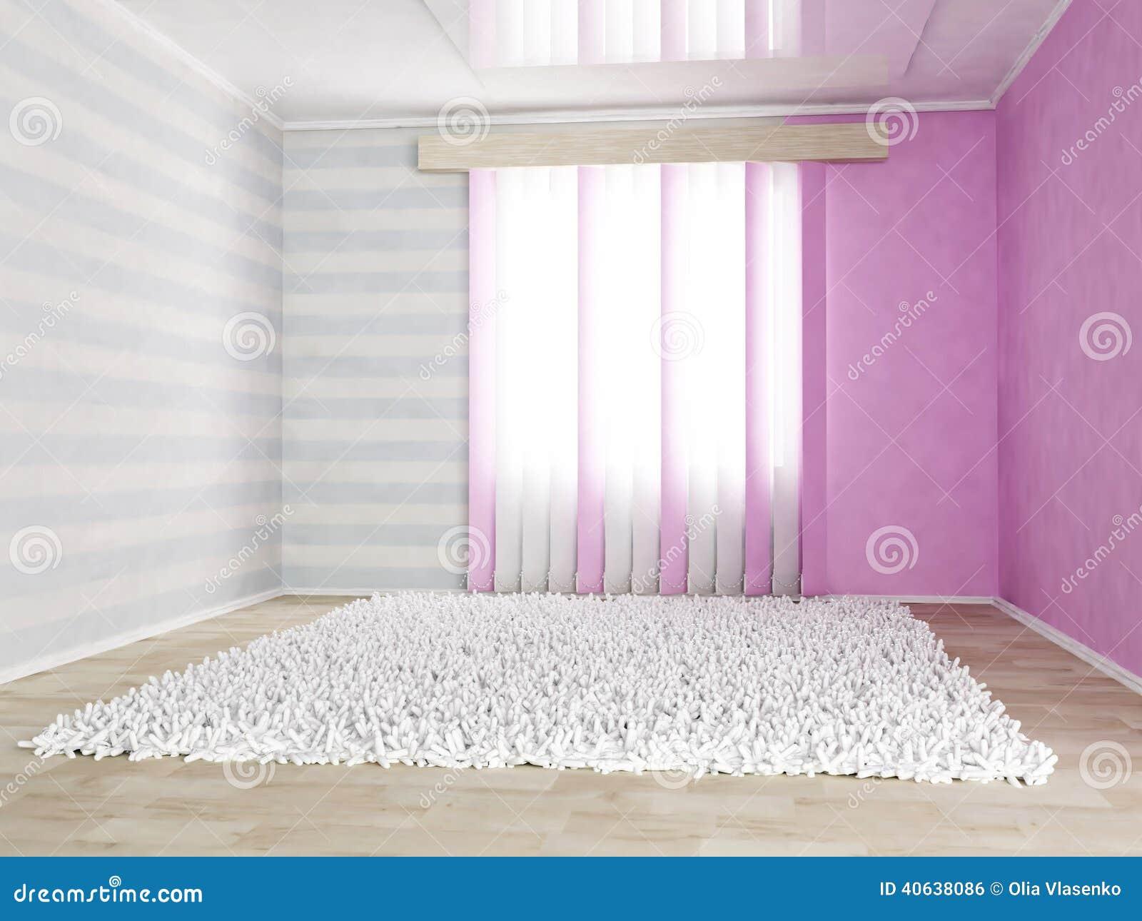 Fußboden Kinderzimmer Geeignet ~ Kinderzimmer in den leichten farben stock abbildung illustration
