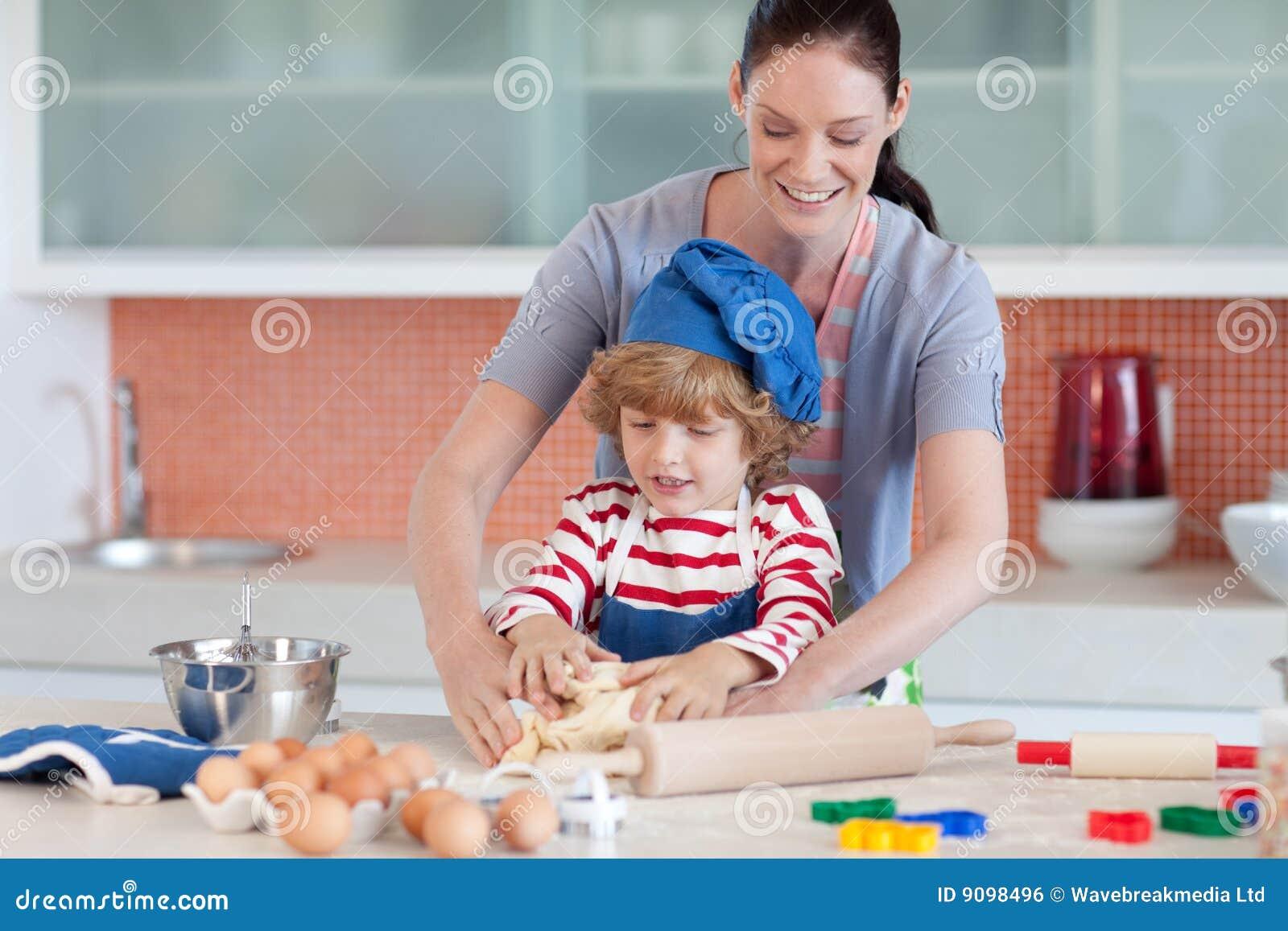 Kindheitspaß in der Küche