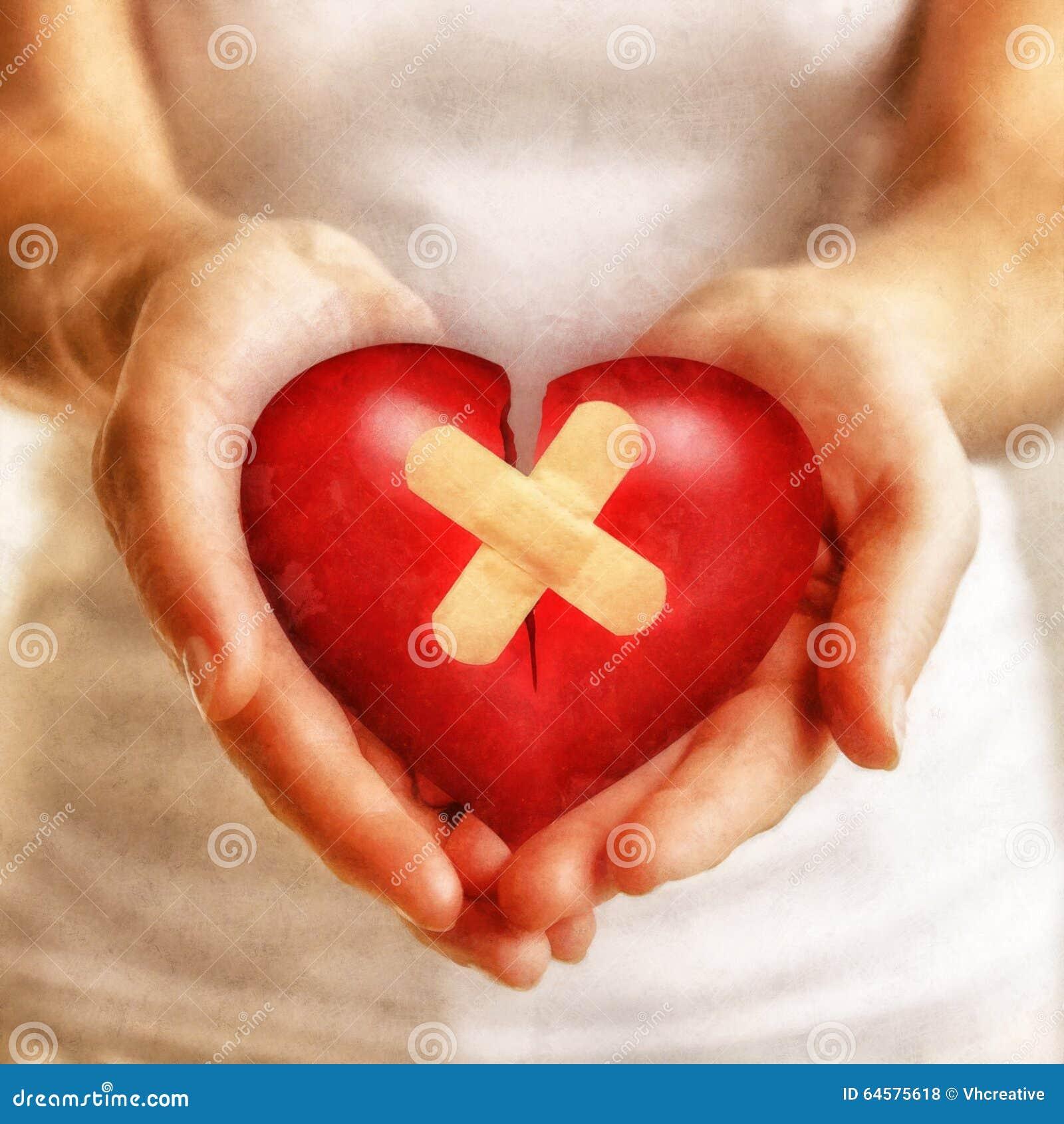 Kindness heals a broken heart