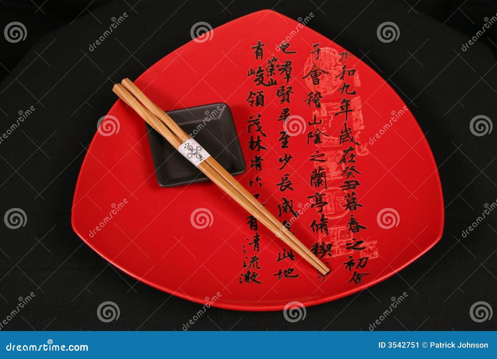 Kinesen letters plattared