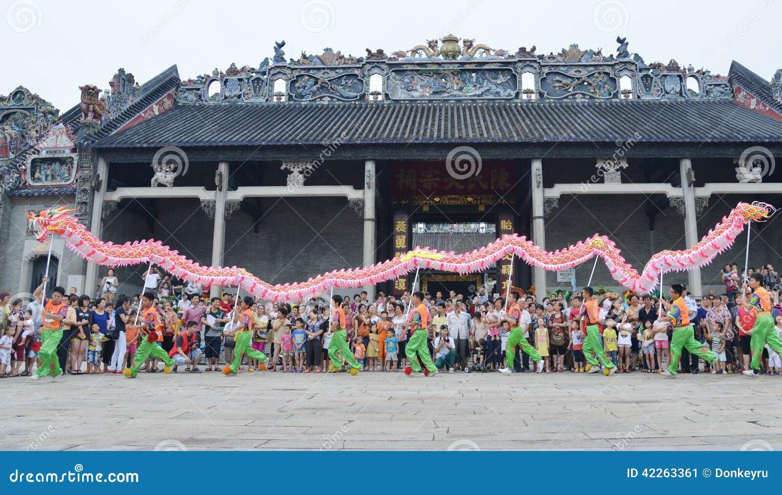 Kinesisk dansdrake
