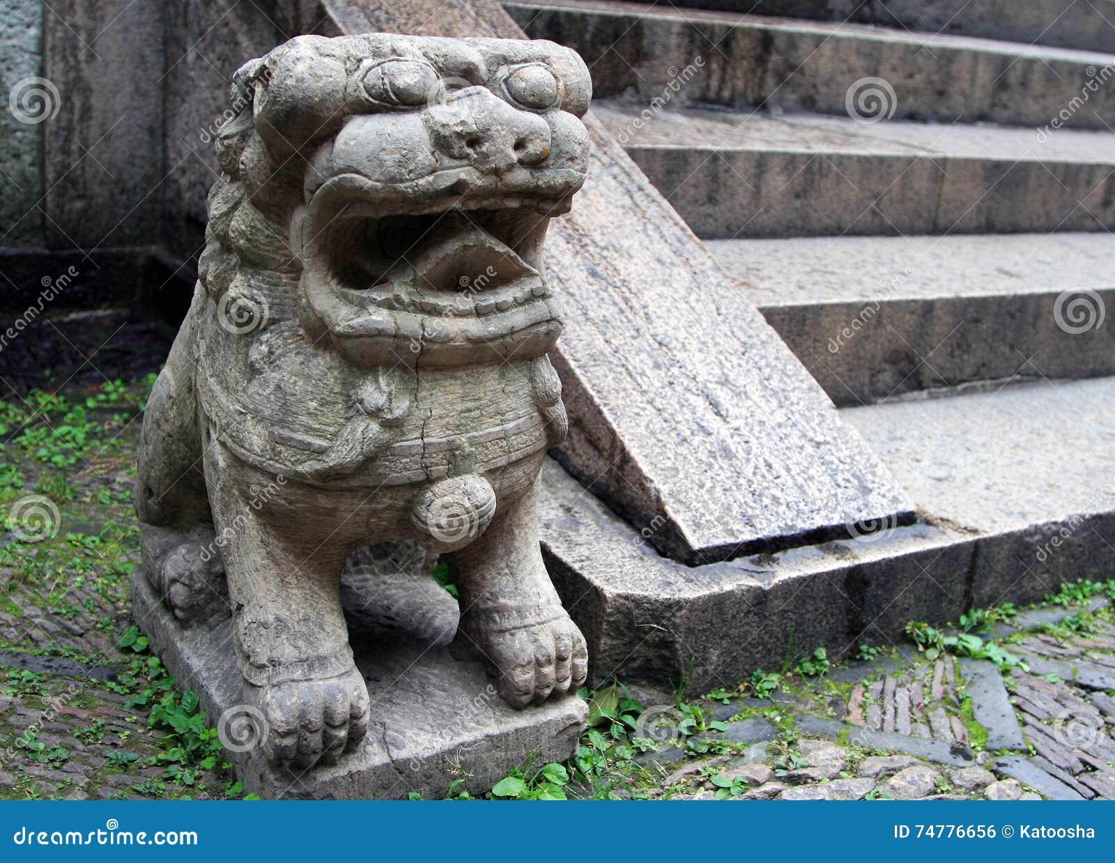 Kinesisk traditionell lionsten