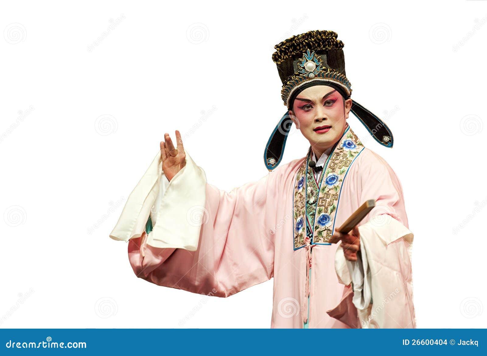 Kinesisk traditionell operaskådespelare