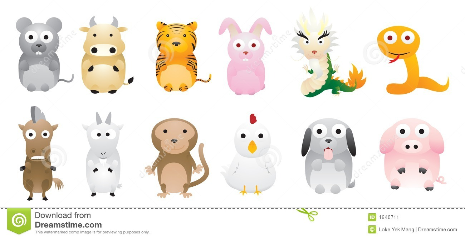 Kinesisk zodiac