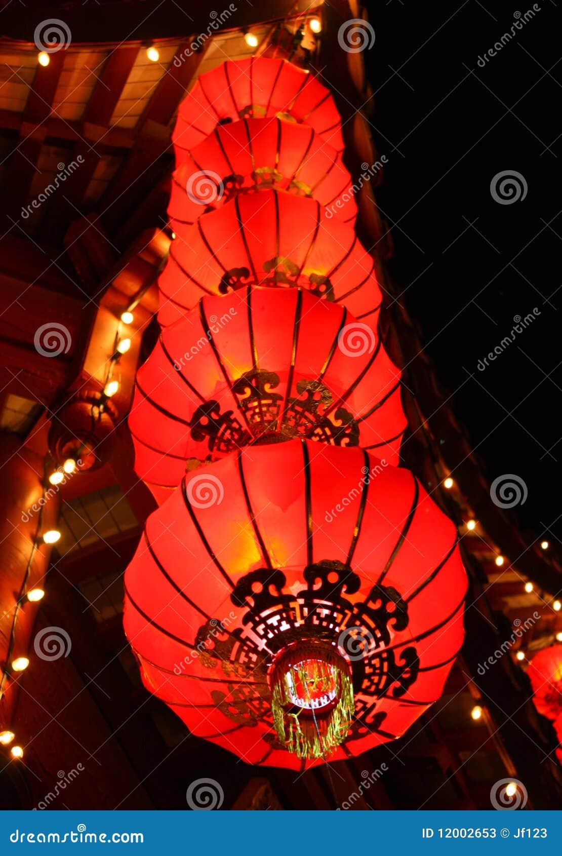 Kinesiska lyktor