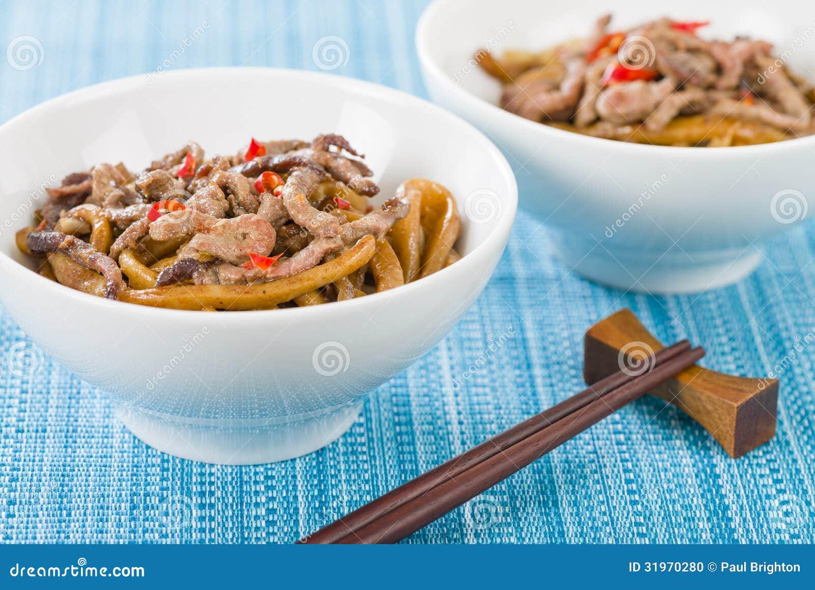 Kinesiskt kryddigt nötkött och svart Bean Sauce