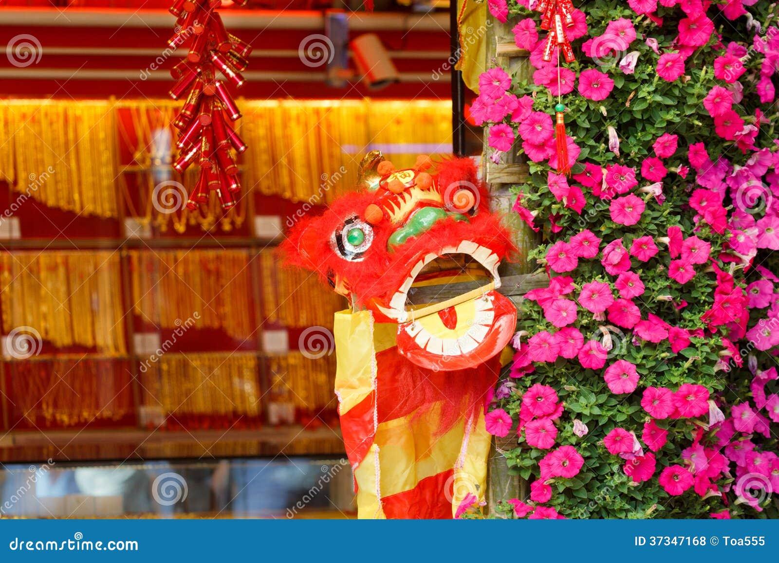 Kinesiskt lejon