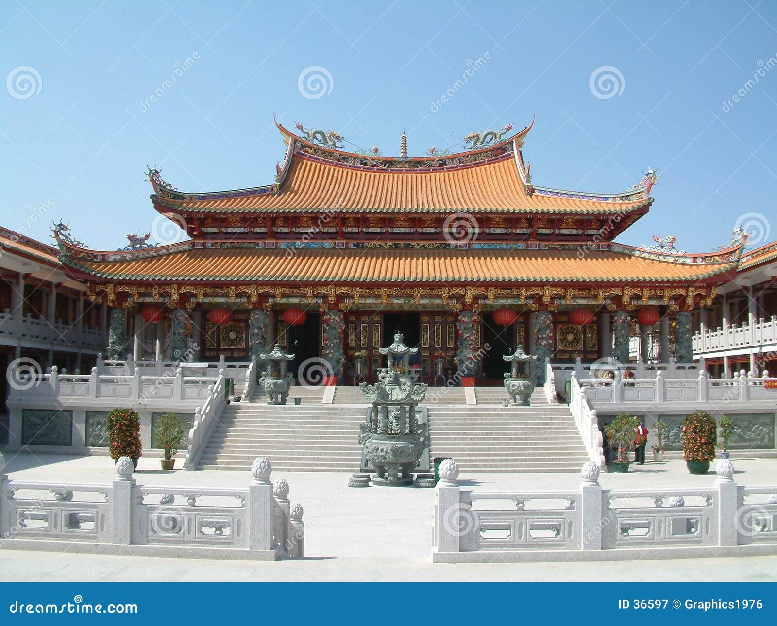 Kinesiskt macau tempel