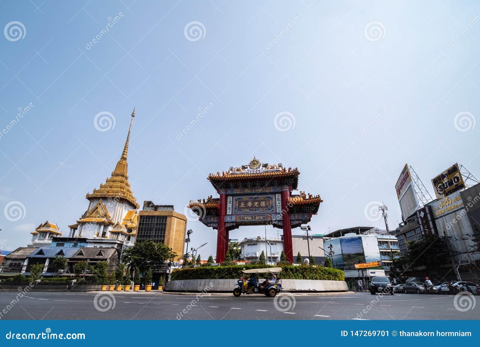 Kineskvarter Bangkok