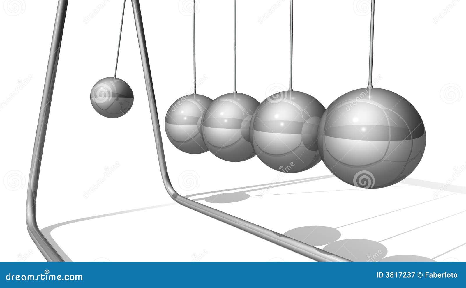 Kinetic klockpendelar