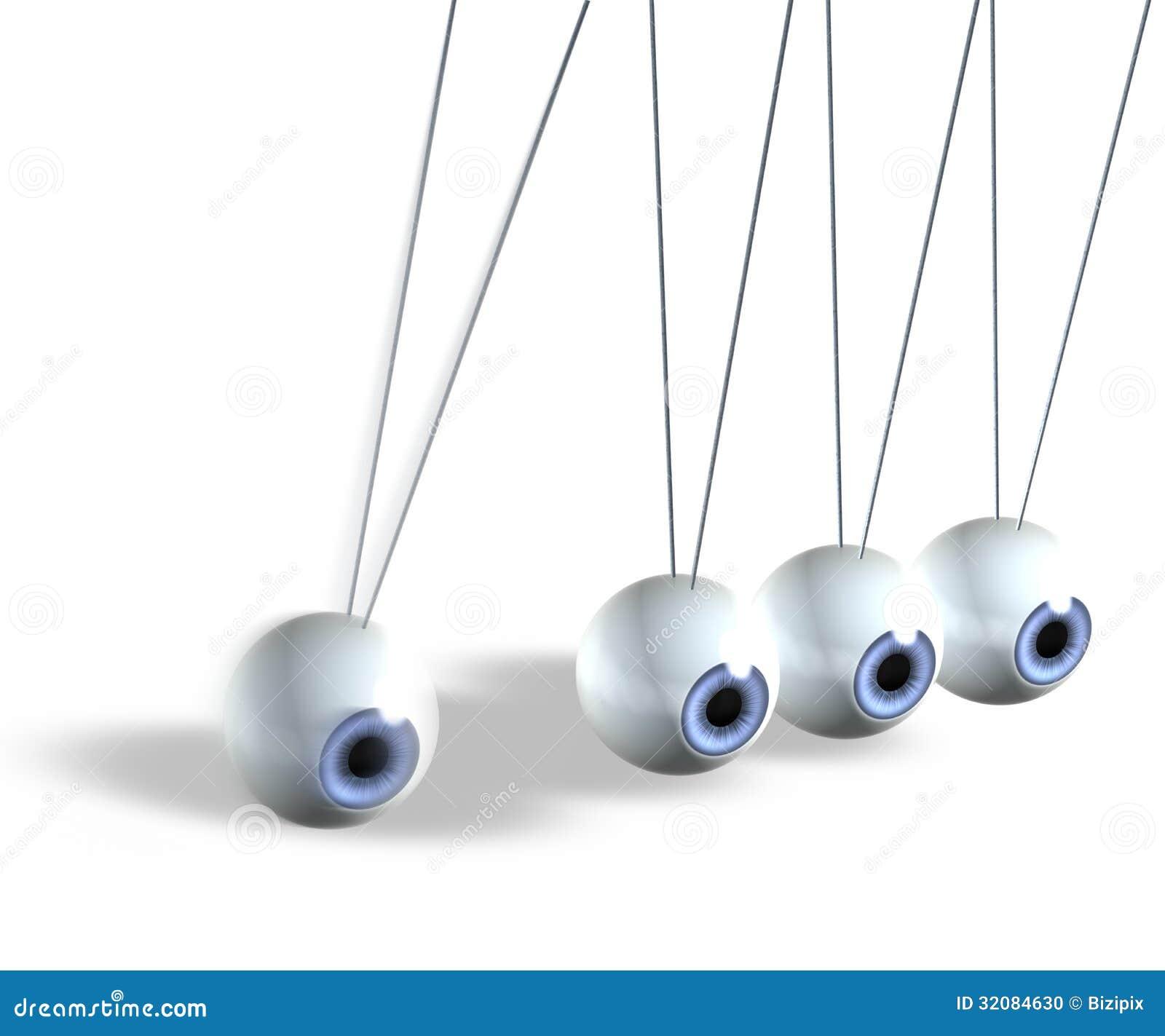 kinetic pendulum stock photo image 32084630