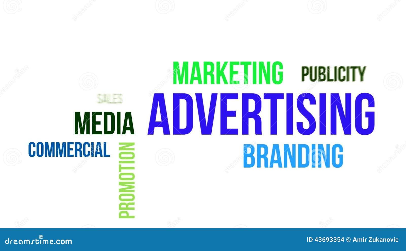 Kinetische Typografie - Werbung Stock Footage - Video von ...