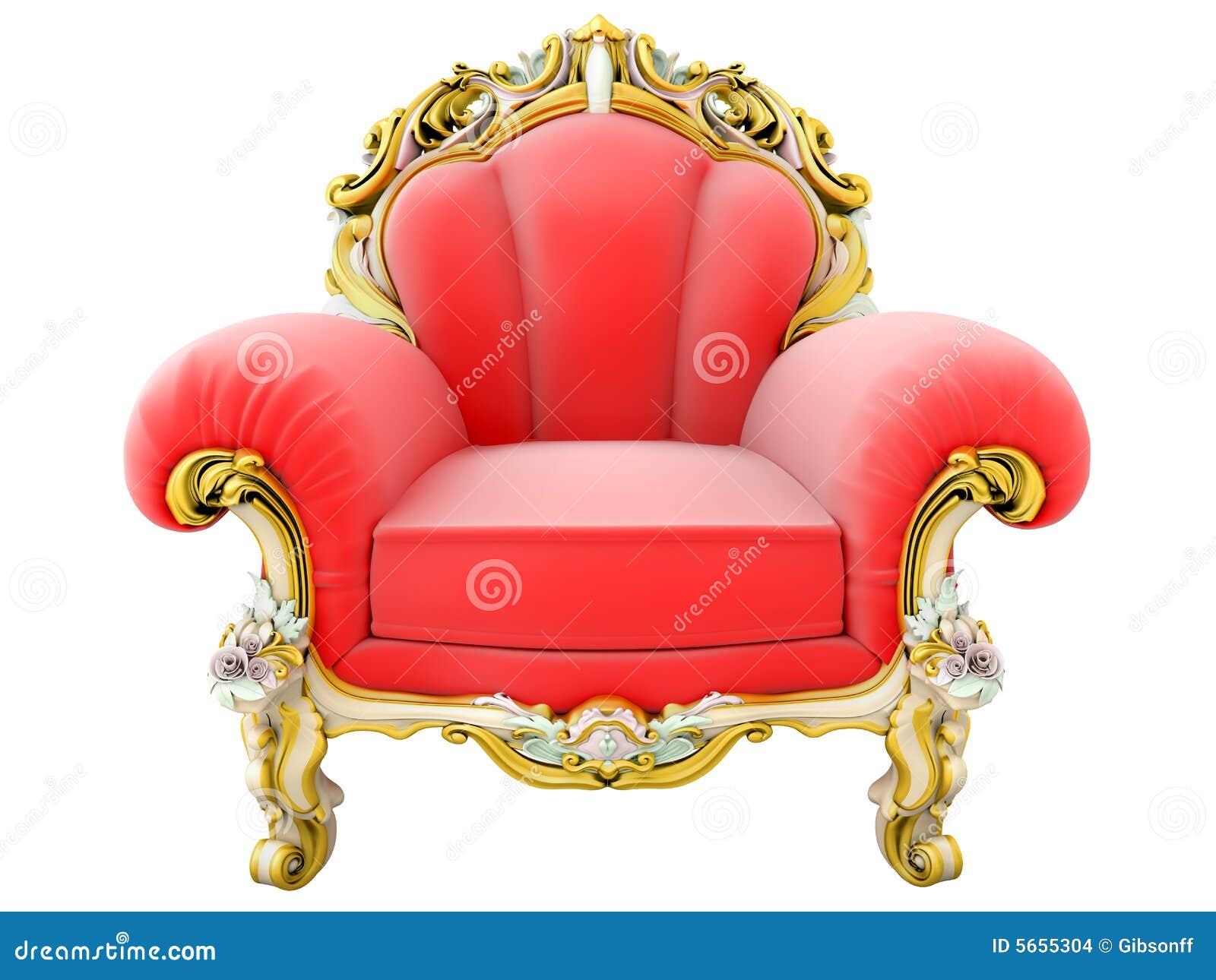 King armchair