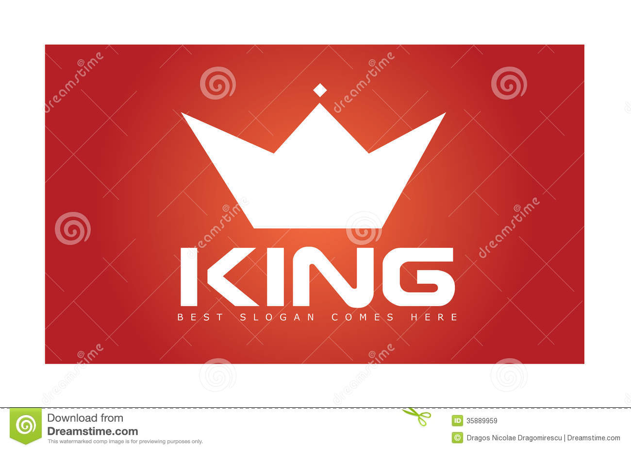 king crown simple logo stock vector image of brand