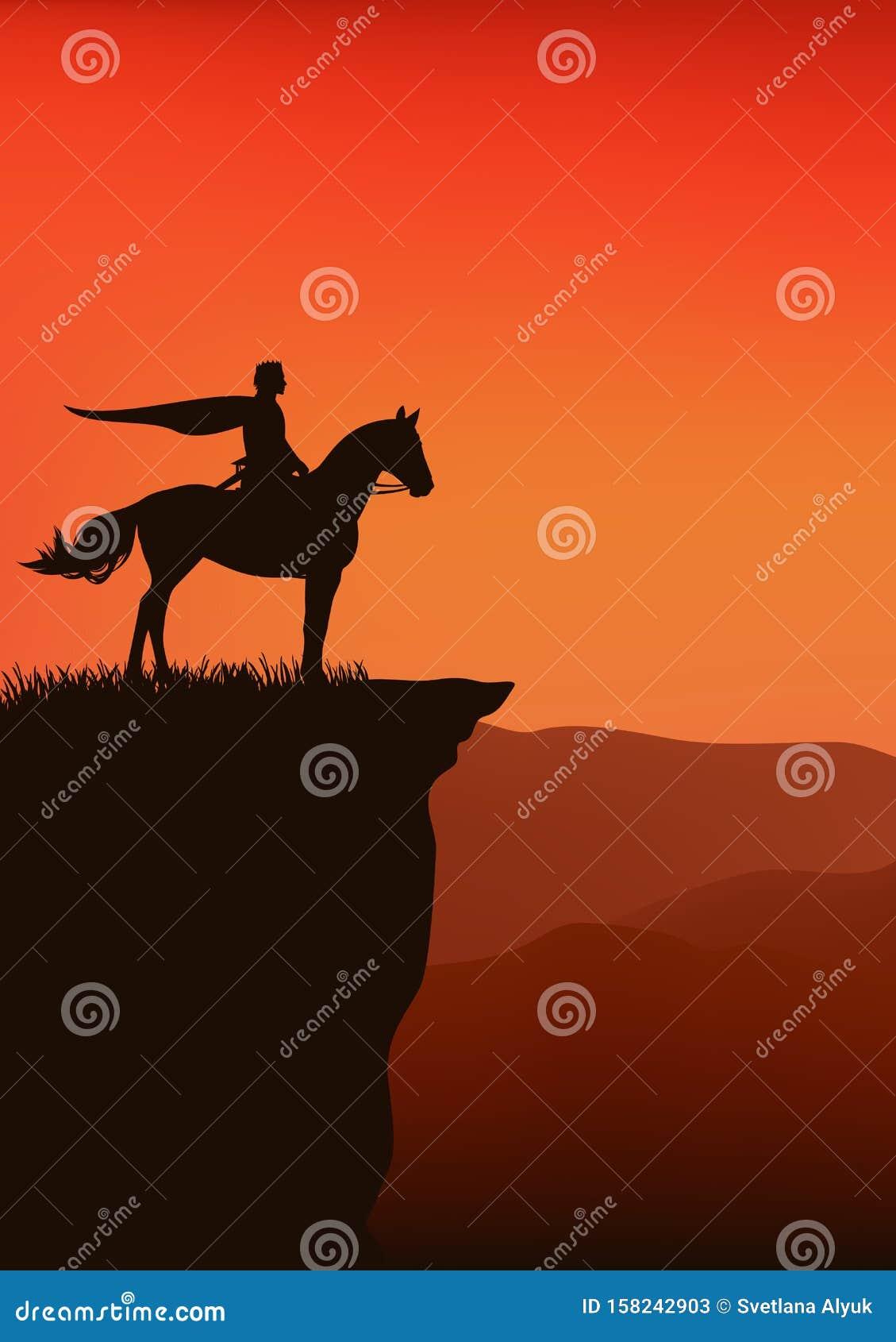 Horse Rider Cliff Stock Illustrations 35 Horse Rider Cliff Stock Illustrations Vectors Clipart Dreamstime